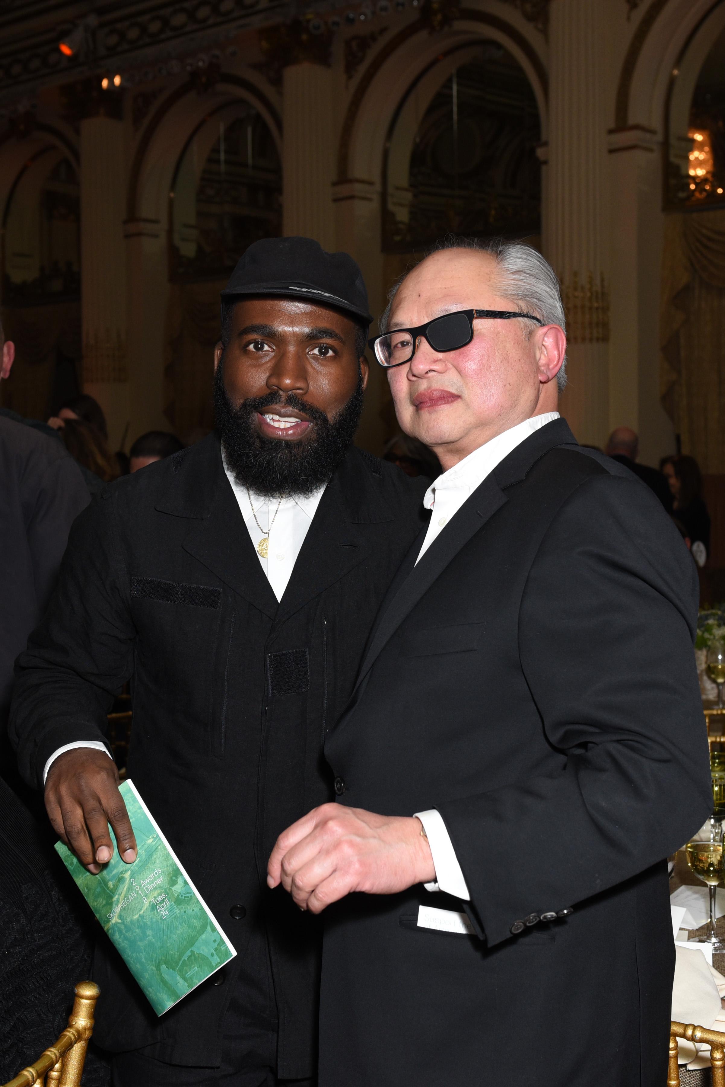 Derrick Adams, ?==Skowhegan Awards Dinner 2018==The Plaza Hotel, New York, NY==April 24, 2018==�Patrick McMullan==Photo - Presley Ann/PMC====