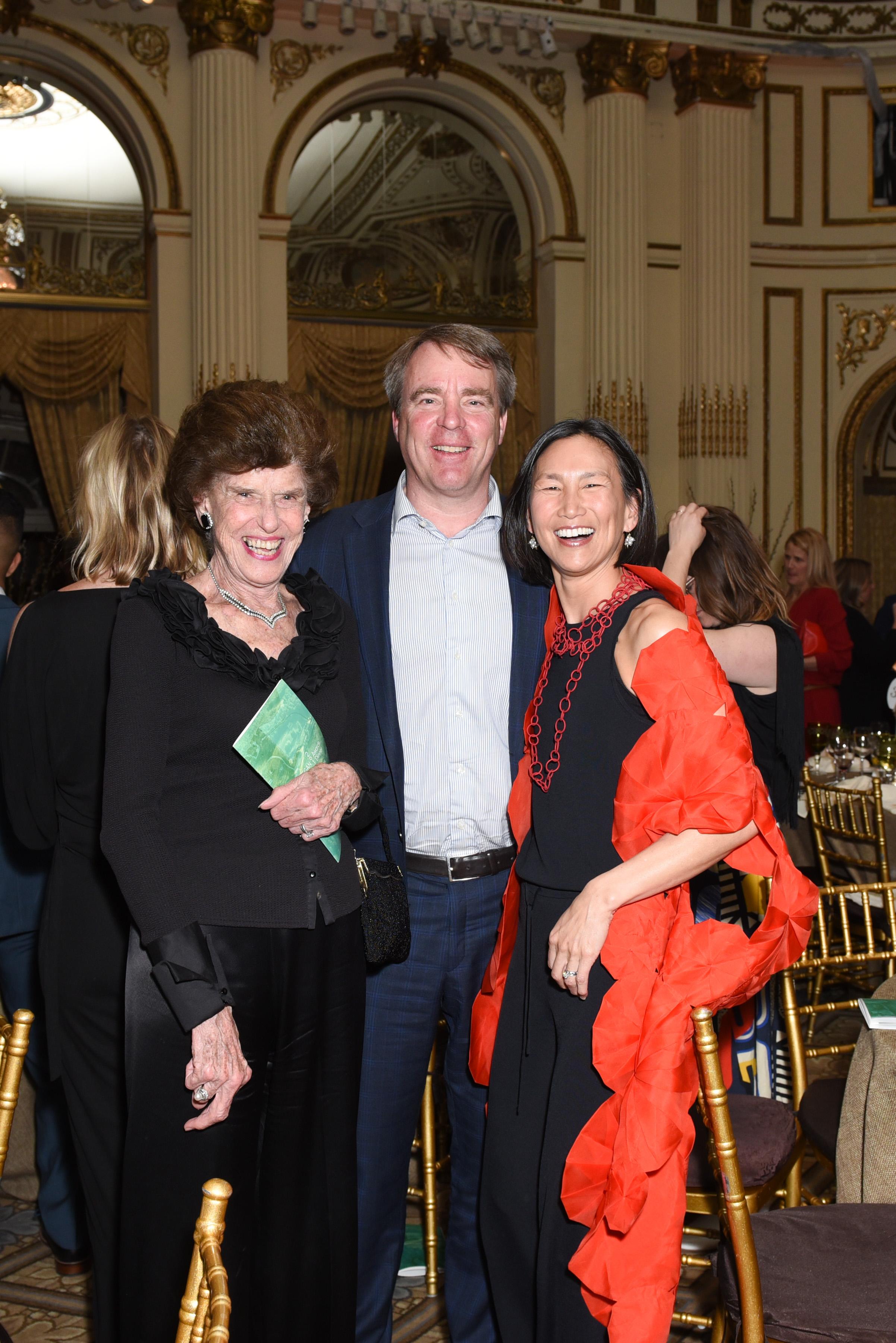 ?, ?, ?==Skowhegan Awards Dinner 2018==The Plaza Hotel, New York, NY==April 24, 2018==�Patrick McMullan==Photo - Presley Ann/PMC====
