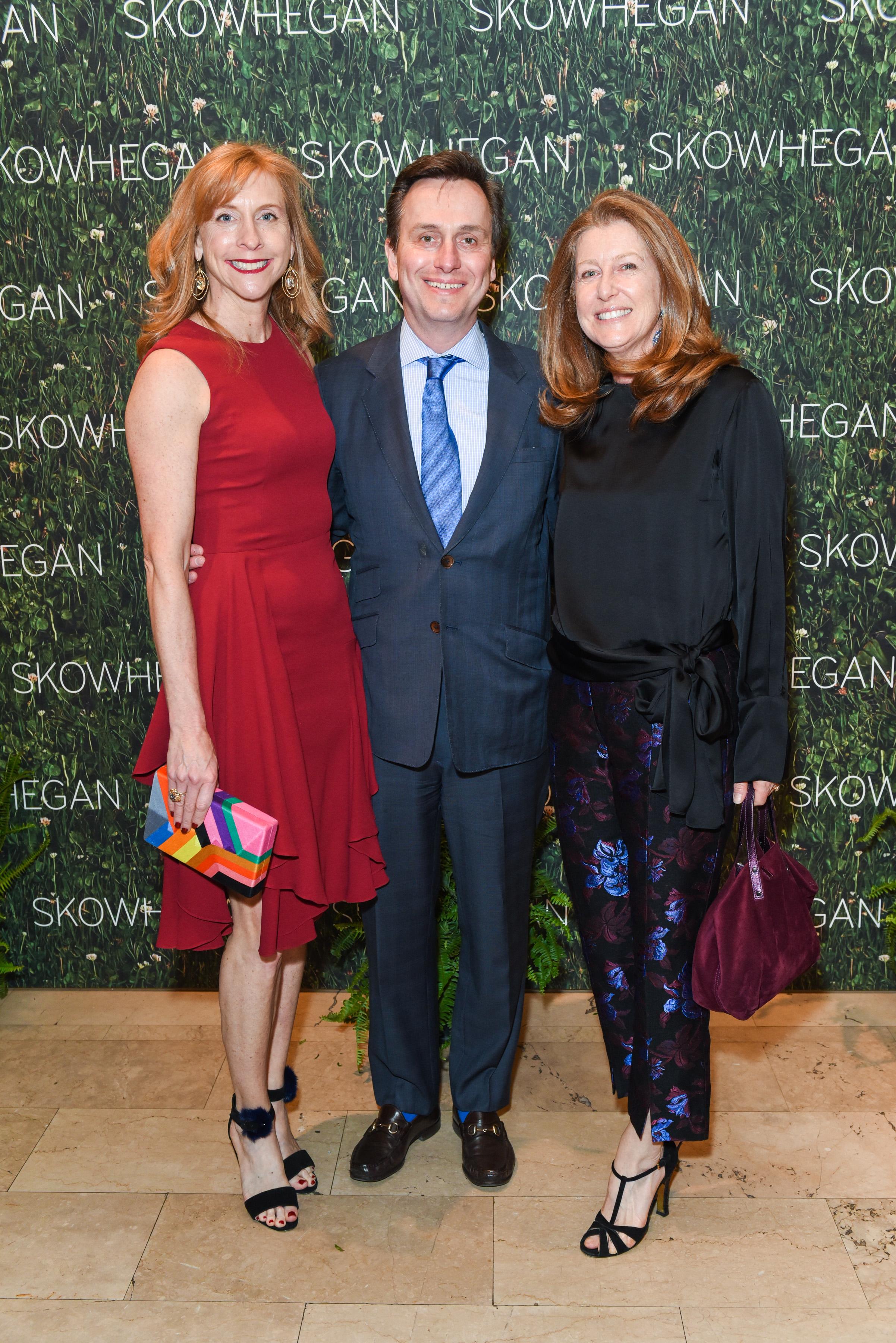 Victoria Love Samueloff, Uri Samueloff, Stephanie Hunt==Skowhegan Awards Dinner 2018==The Plaza Hotel, New York, NY==April 24, 2018==�Patrick McMullan==Photo - Presley Ann/PMC====