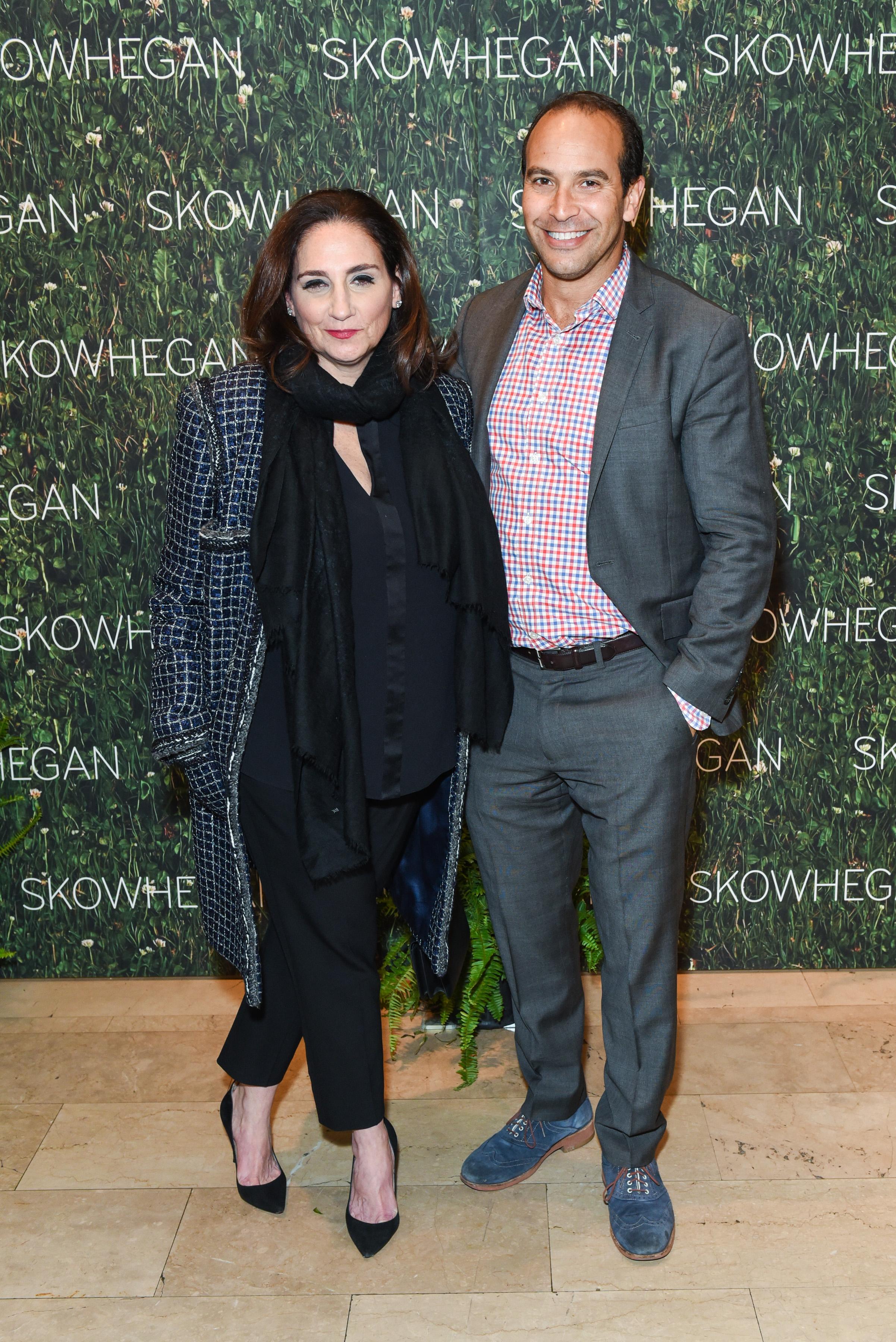 Rena Hoffman, Bernard Lumpkin==Skowhegan Awards Dinner 2018==The Plaza Hotel, New York, NY==April 24, 2018==�Patrick McMullan==Photo - Presley Ann/PMC====