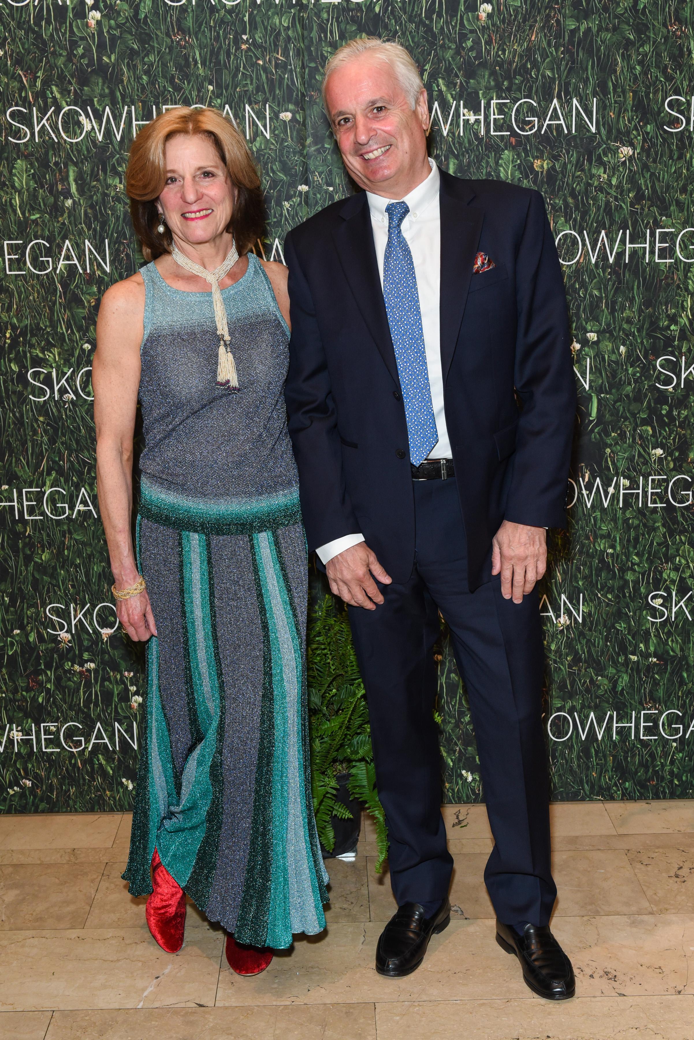 Jan Erison, Dominique Fons==Skowhegan Awards Dinner 2018==The Plaza Hotel, New York, NY==April 24, 2018==�Patrick McMullan==Photo - Presley Ann/PMC====