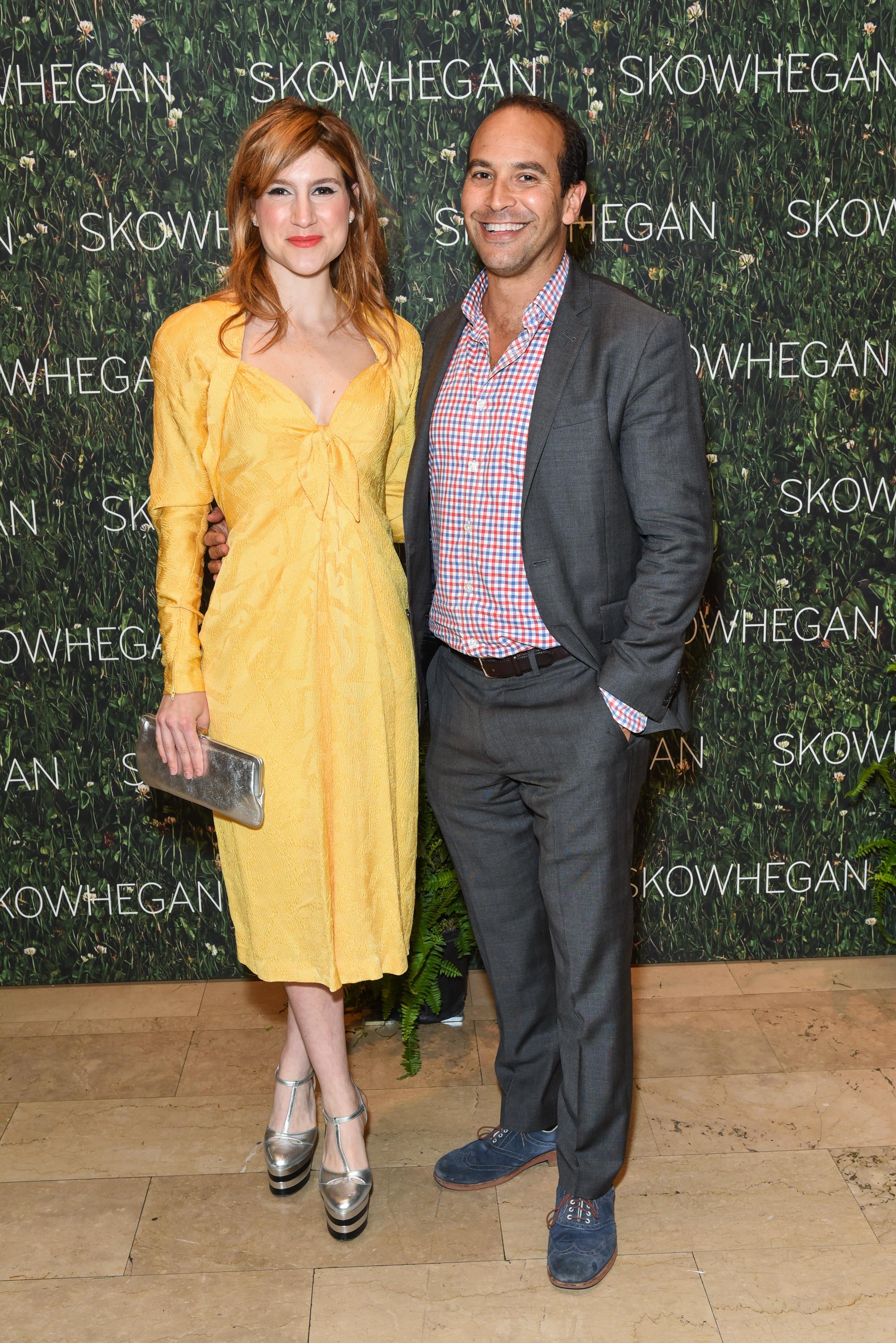 Caroline Hoffman, Bernard Lumpkin==Skowhegan Awards Dinner 2018==The Plaza Hotel, New York, NY==April 24, 2018==�Patrick McMullan==Photo - Presley Ann/PMC====