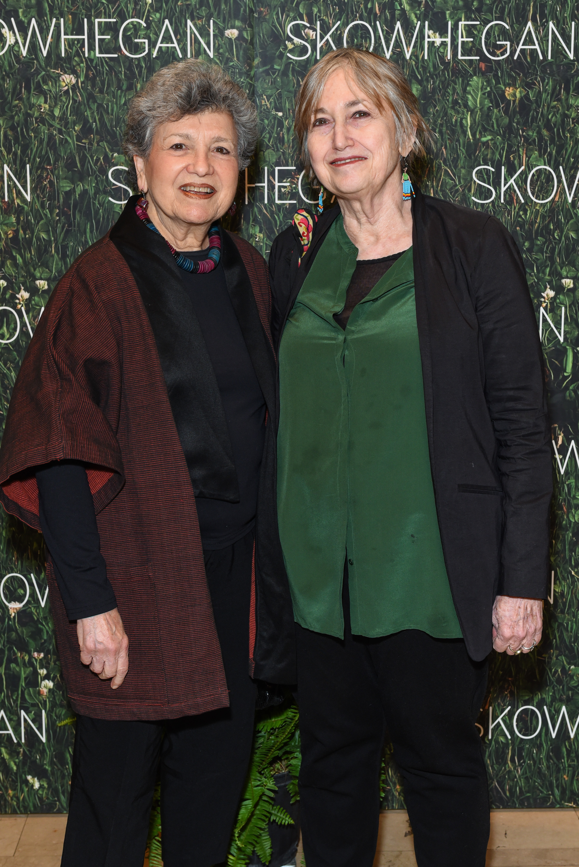 ?, Joyce Kozloff==Skowhegan Awards Dinner 2018==The Plaza Hotel, New York, NY==April 24, 2018==�Patrick McMullan==Photo - Presley Ann/PMC====