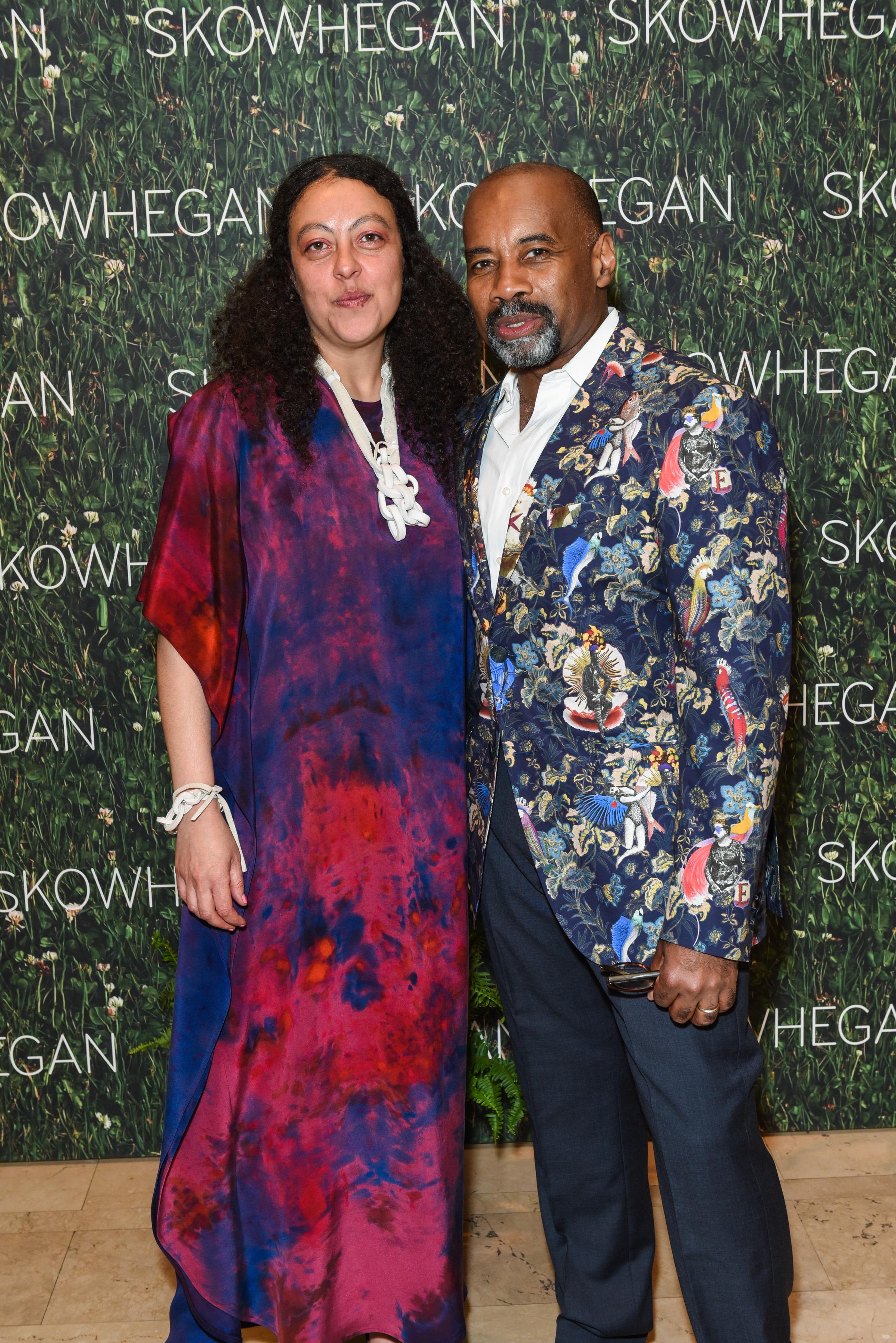 Sarah Workneh, Paul Kirnon==Skowhegan Awards Dinner 2018==The Plaza Hotel, New York, NY==April 24, 2018==�Patrick McMullan==Photo - Presley Ann/PMC====