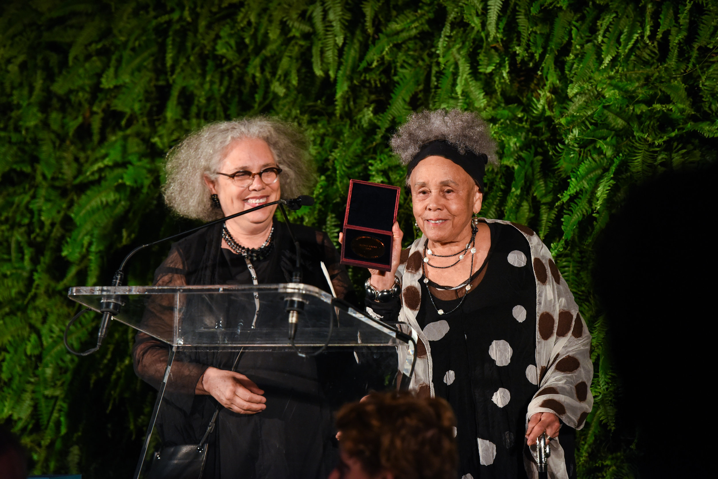 Alison Saar, Betye Saar==Skowhegan Awards Dinner 2018==The Plaza Hotel, New York, NY==April 24, 2018==�Patrick McMullan==Photo - Presley Ann/PMC====