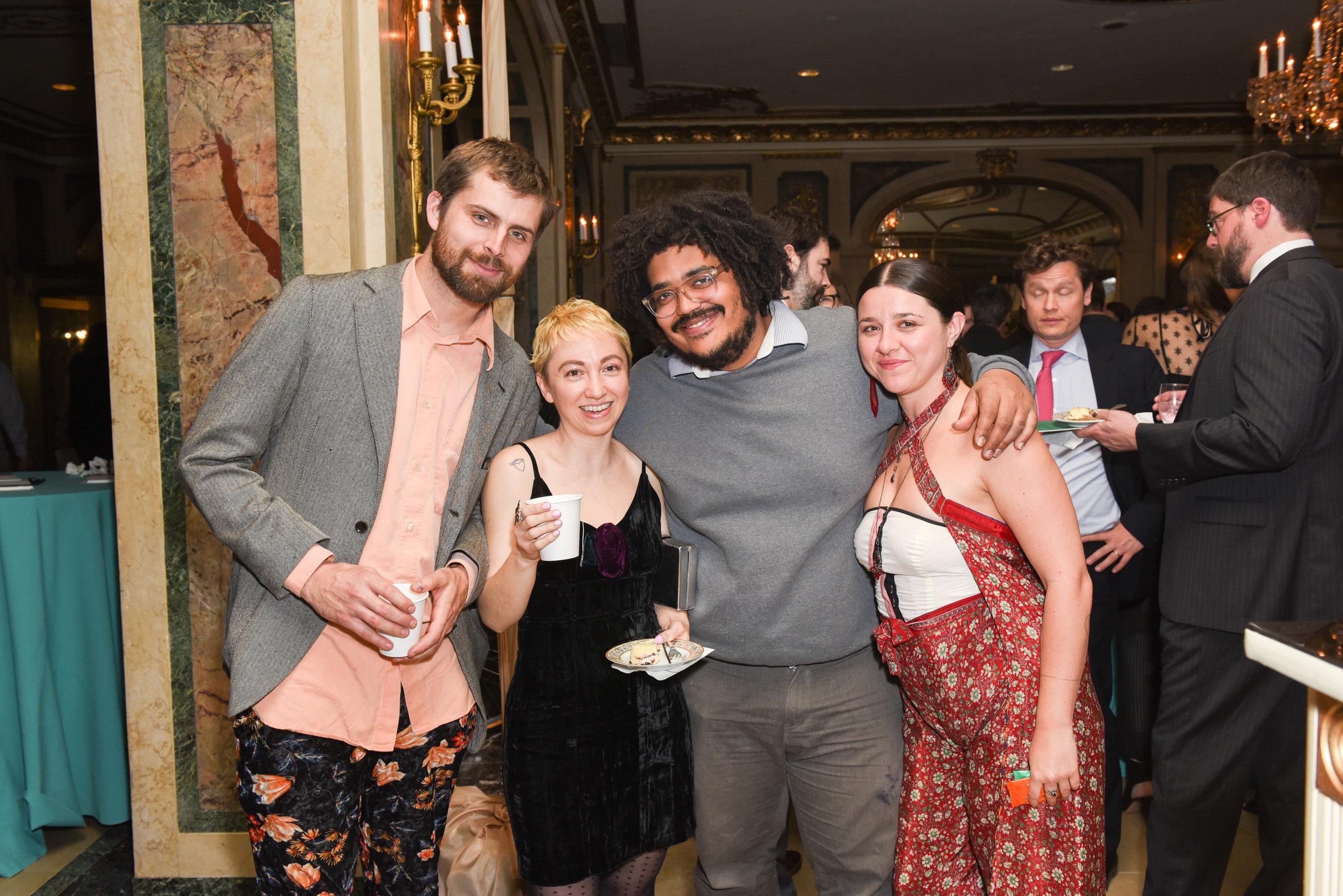 ?, ?, ?, ?==Skowhegan Awards Dinner 2018==The Plaza Hotel, New York, NY==April 24, 2018==�Patrick McMullan==Photo - Presley Ann/PMC====