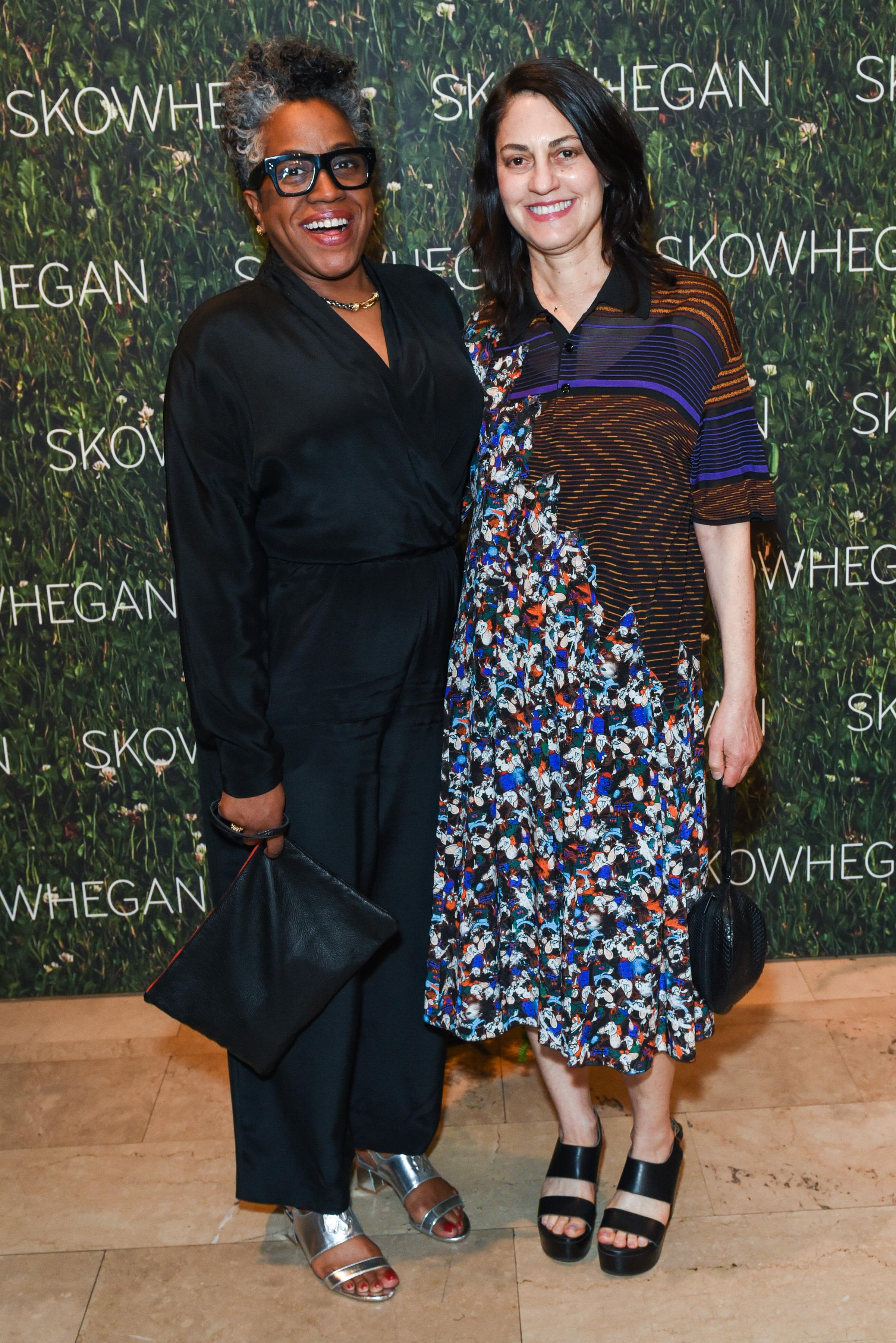 Jennie C. Jones, Alex Pearlstein==Skowhegan Awards Dinner 2018==The Plaza Hotel, New York, NY==April 24, 2018==�Patrick McMullan==Photo - Presley Ann/PMC====