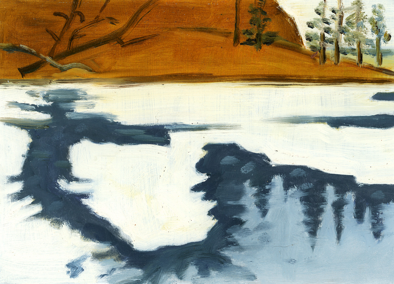 Copy of Feb 23, 1985 (Blair Pond Frozen)
