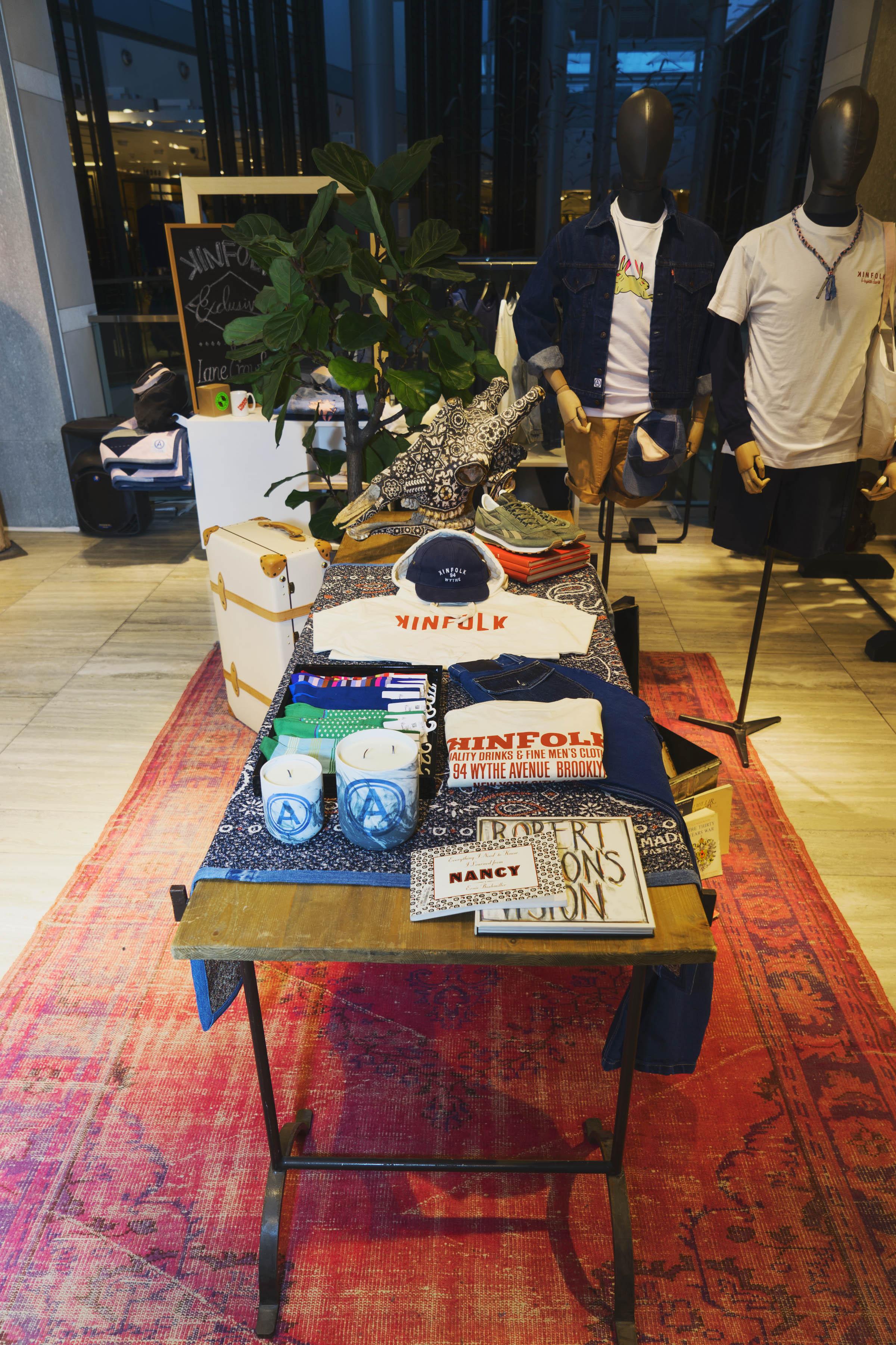 Nu-Mode Magazine Kinfolk Pop Up Lane Crawford