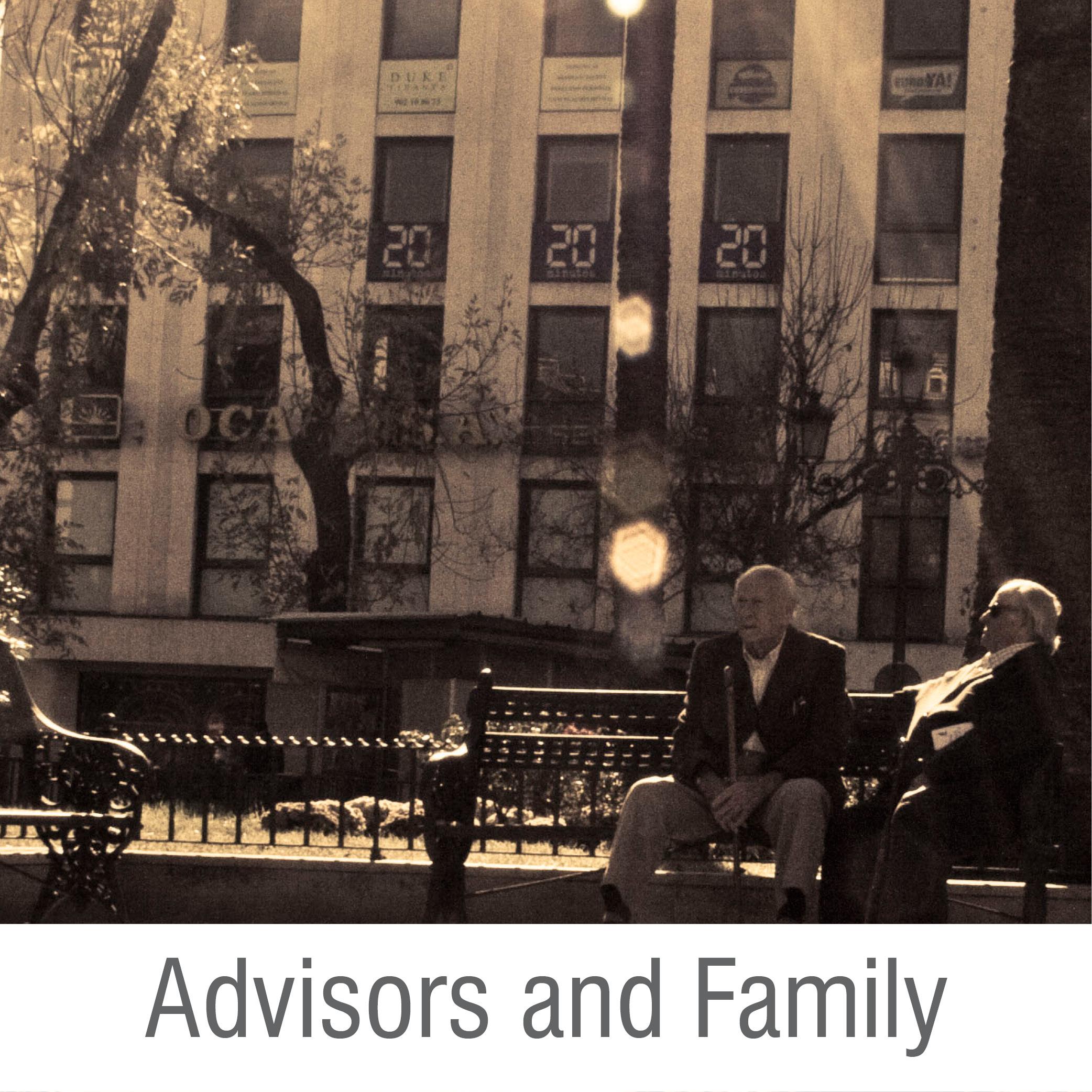 Advisors and Family