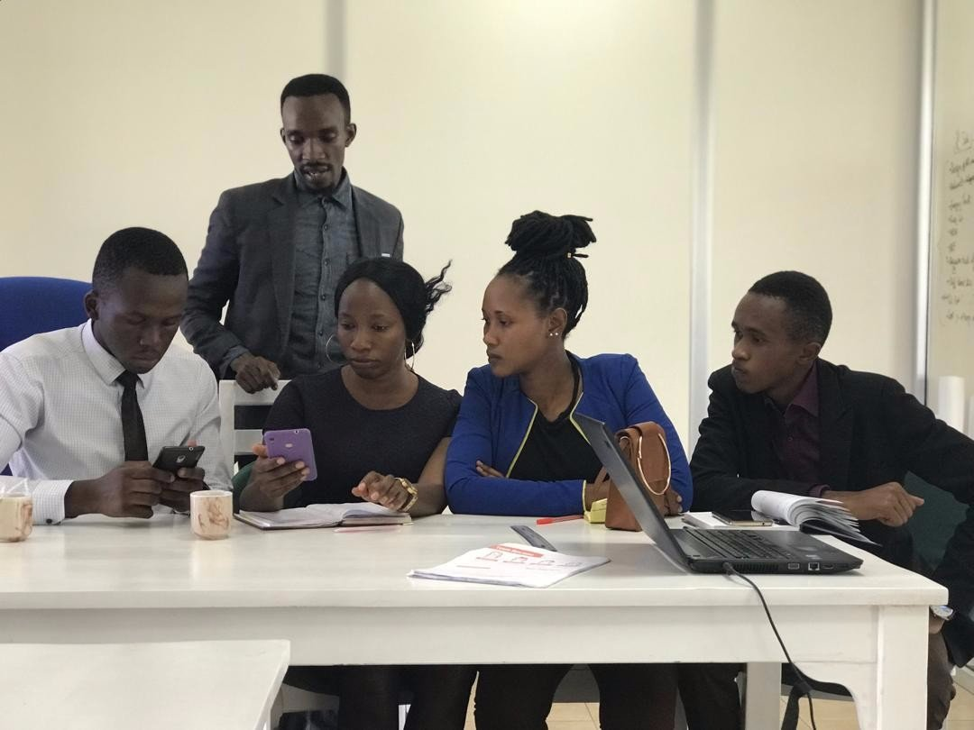 Localization Sprint with Swahili language contributors. Photo by  Zaituni Njovu .