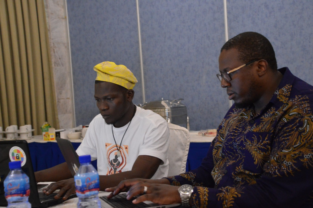 Sprint participants at FIFAfrica in September 2018.