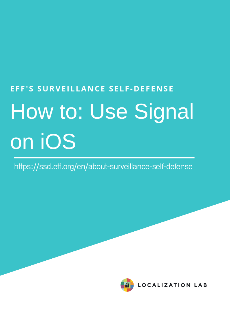 How to: Use Signal for iOS
