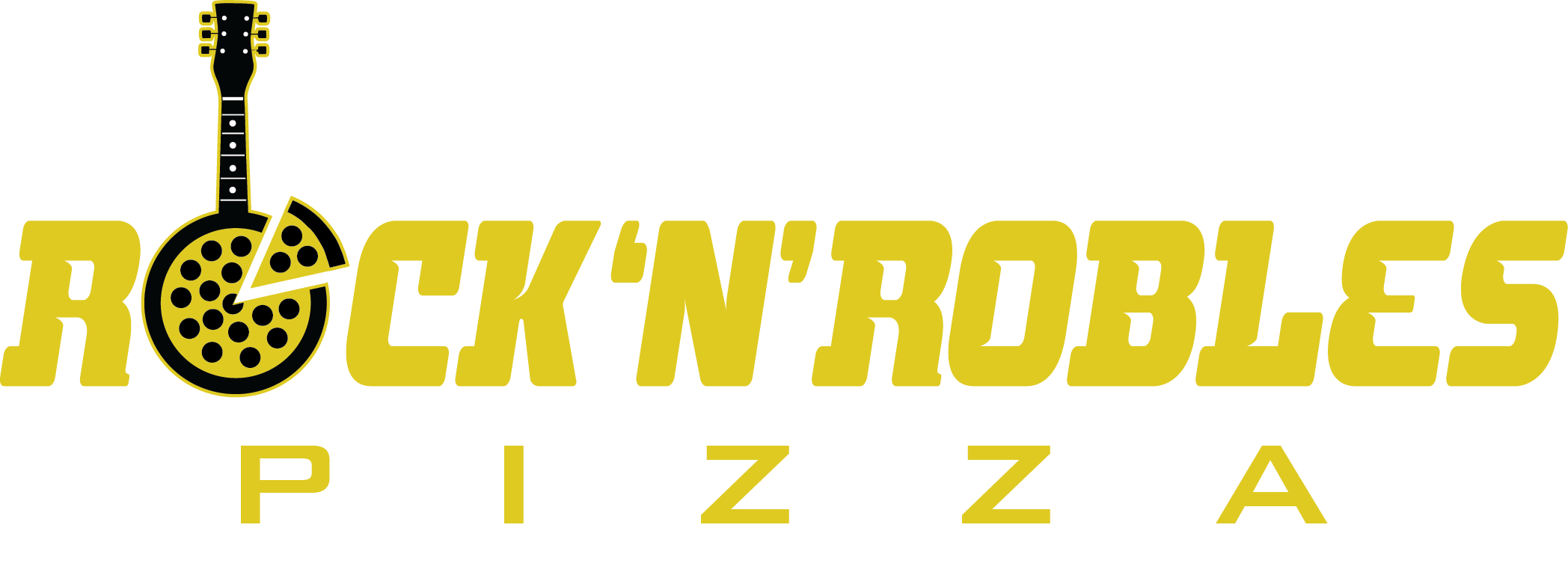 Rock'n'Robles pizza_guitar sign logo_yellow.png