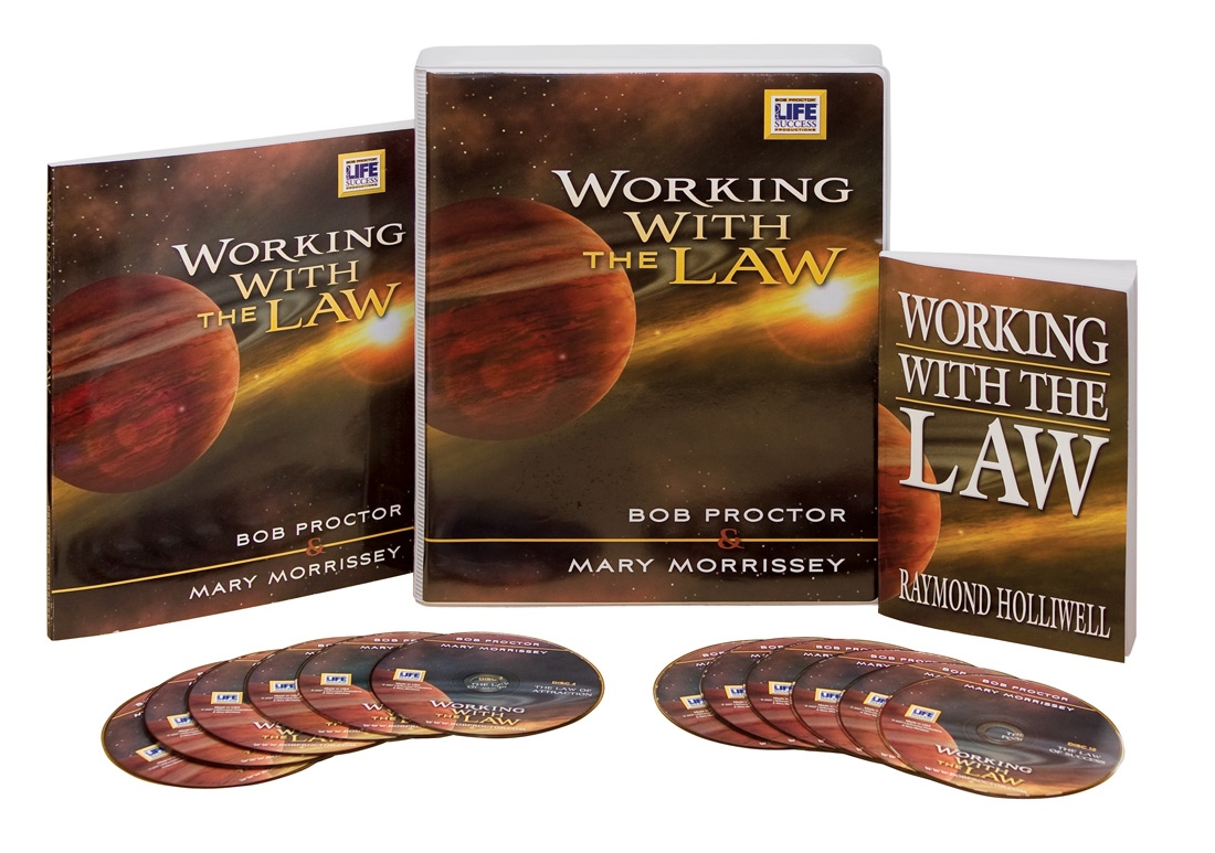 Working With The Law   The 11 Universal Laws are waiting to be discovered! This audio course will help you unearth their power and create your best life. Hillary M. Anderson will lead you through Bob Proctor & Mary Morrissey's study of the principles outlined in Working with the Law, by Raymond Holliwell; who has taken the secret teachings and writings of the past, merged them with quantum science and brought these ideas into reality. This 12-week program is an in-depth study of Raymond Holliwell's book, Working with the Law. This book nearly fell into obscurity until Mary Morrissey and Bob Proctor studied and shared it's powerful teachings. The 11 spiritual principles you will study allows you to create the life you truly desire. Working with the Law reveals the spiritual Laws that govern all things in the Universe and how you can harness them to create your dream life now.