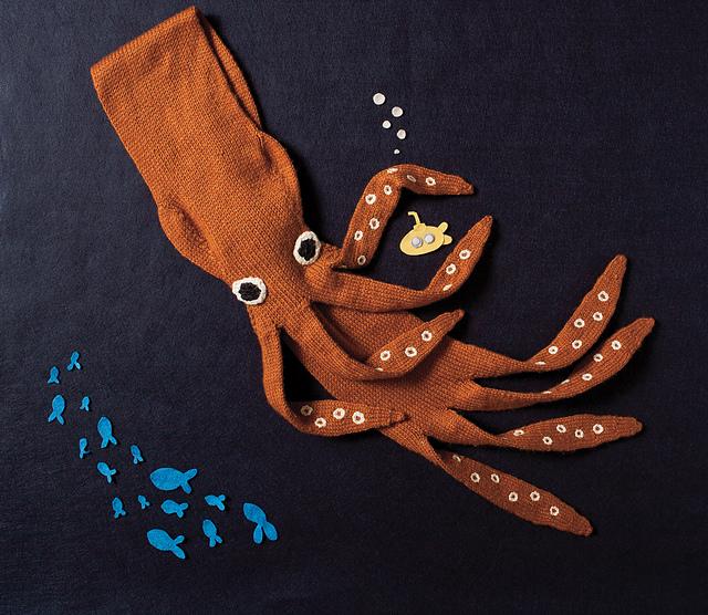 Neck Kraken by Annie Watts