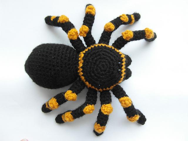 Creepy Cellar Tarantula by Justyna Kacprzak