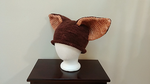Epic Fox Hat by Tania Richter