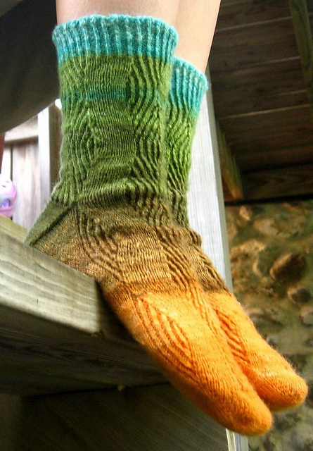 Refractive Socks by Kristy Howell