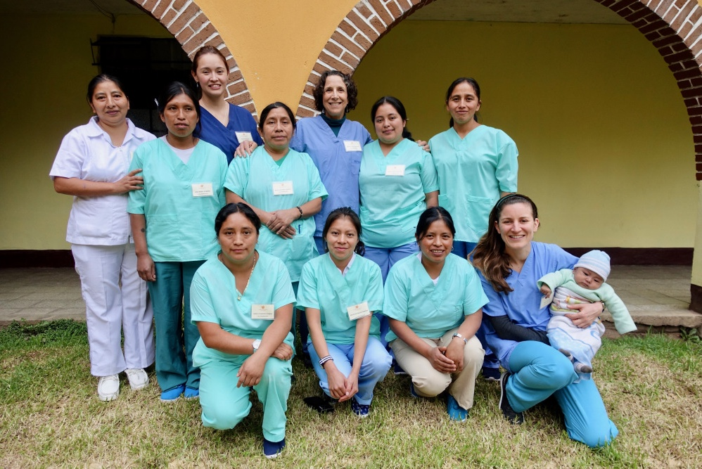 These ACAM midwives took a training course on cervical cancer screenings in October 2017.