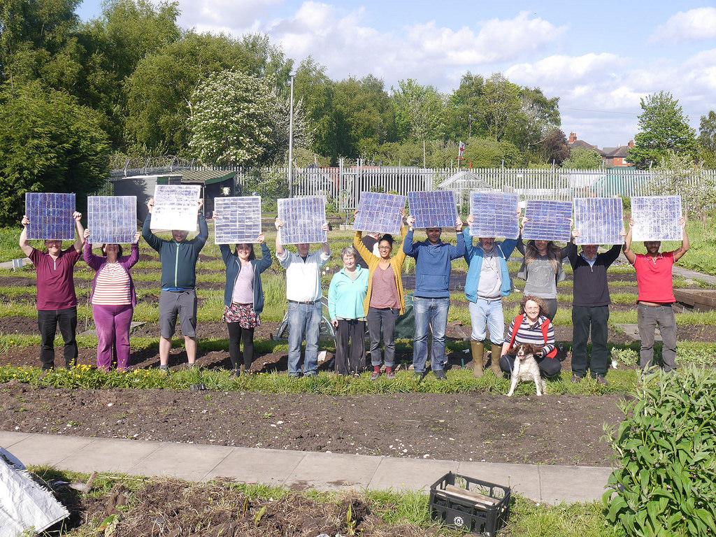 "Photo credit: ""Moss Community Energy Launch,"" flickr user  tentenuk"