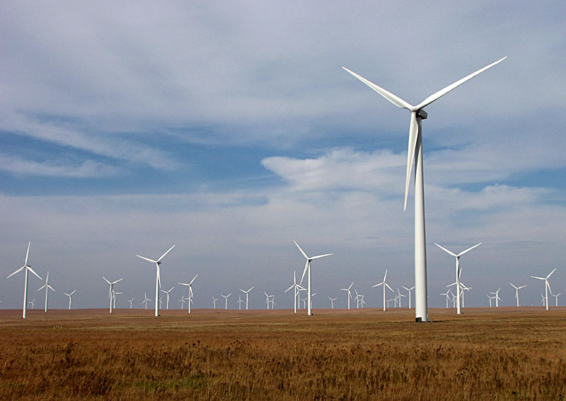 Kansas, a politically conservative-leaning state, is one of the country's largest producers of wind energy.