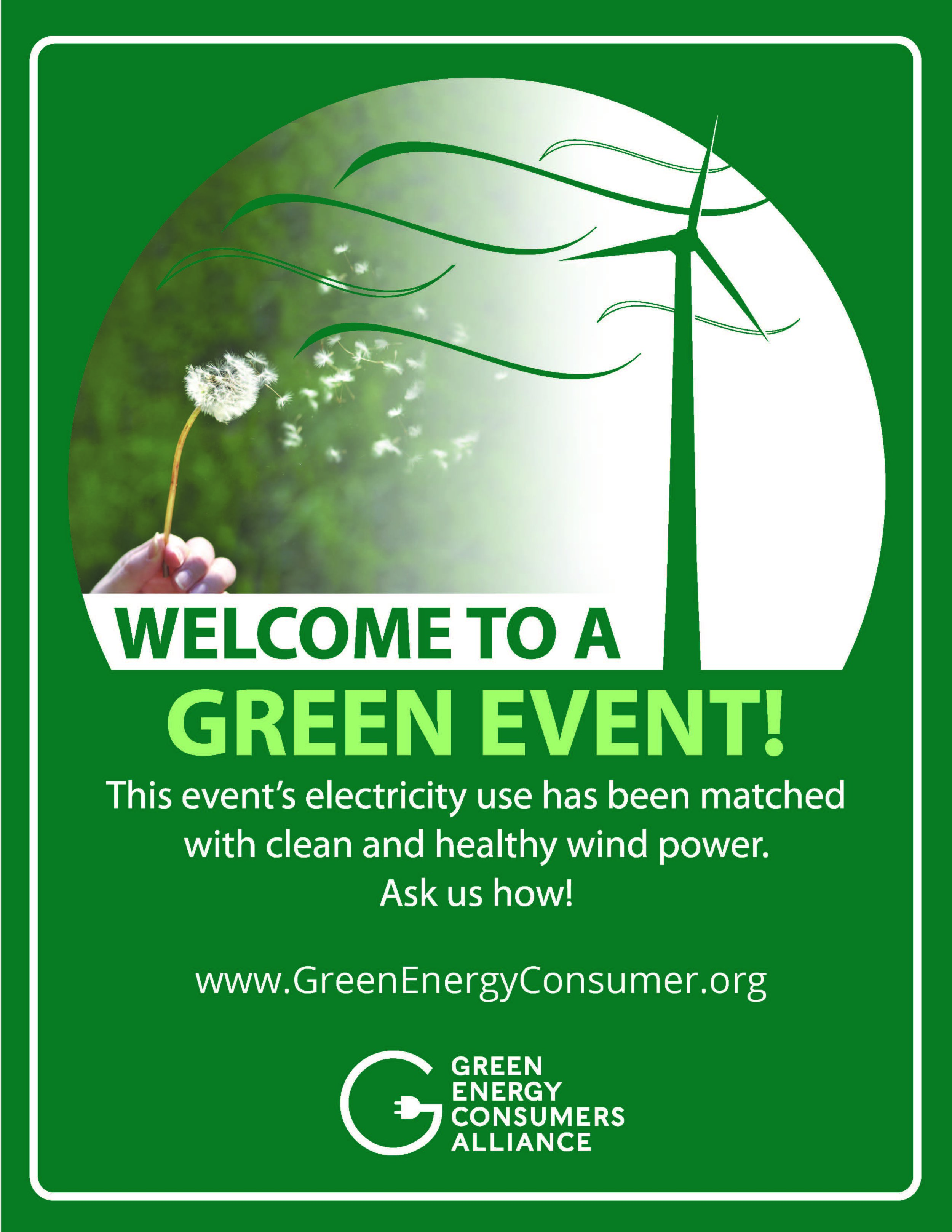 Thanks, Green Energy Consumers Alliance!