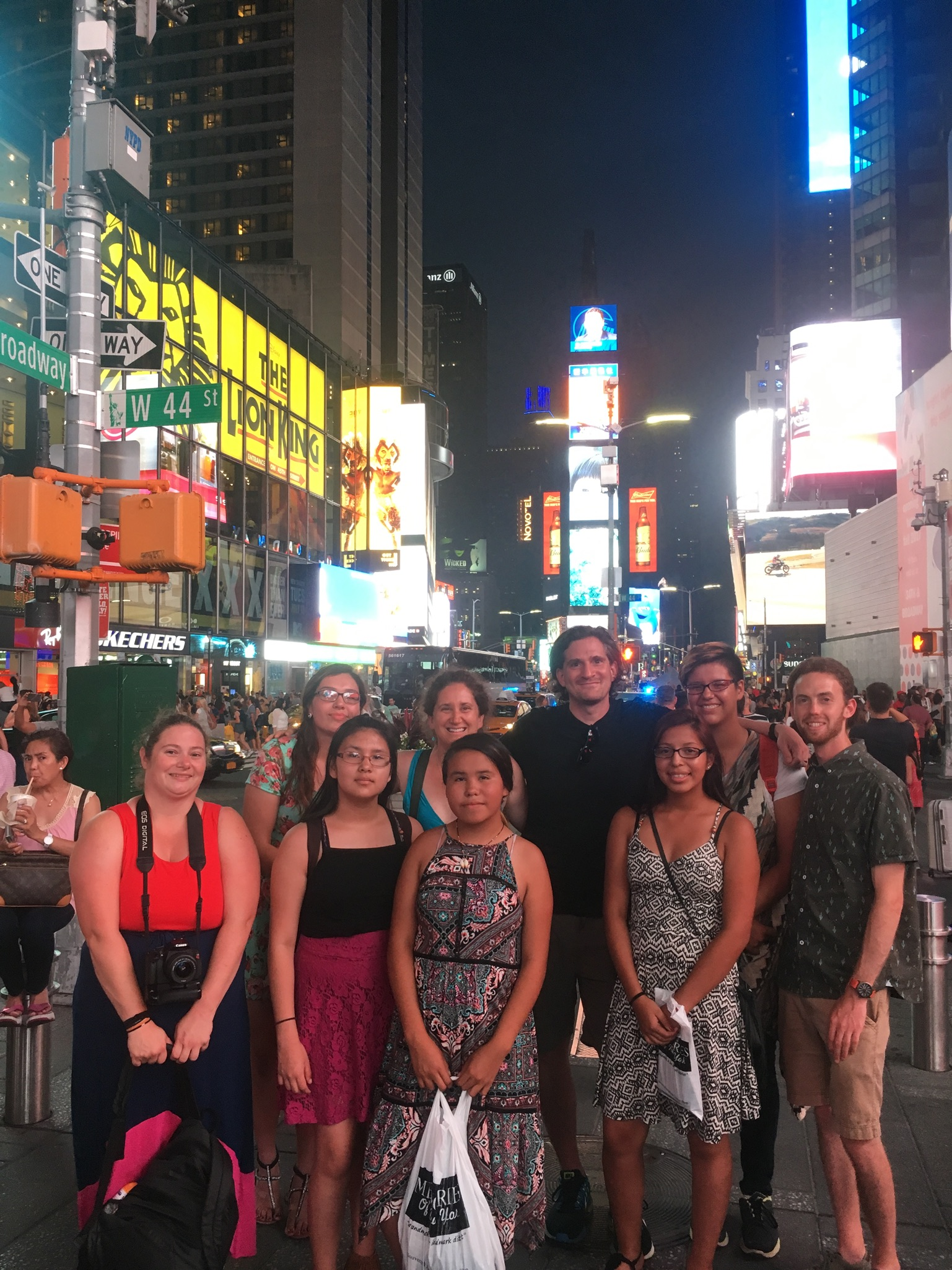 Times Square!