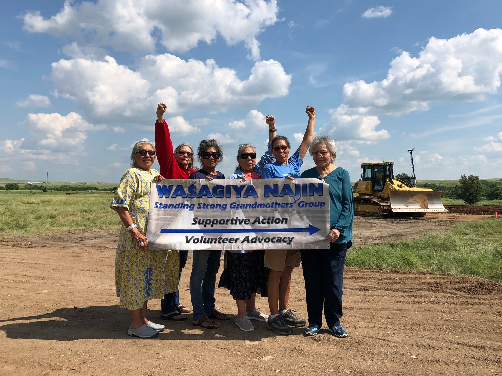 The Wasagiya Najin, or Standing Strong Grandmother's Group, which includes Lakota activists and Children's Village advisors Madonna Thunder Hawk and Marcella Gilbert, strongly endorses and believes in the mission of the Simply Smiles Children's Village!