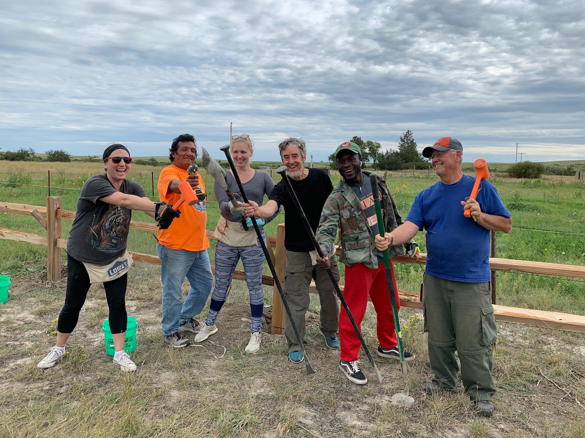 Simply Smiles volunteers and our local community partners are a vital part of the building process of the Children's Village!
