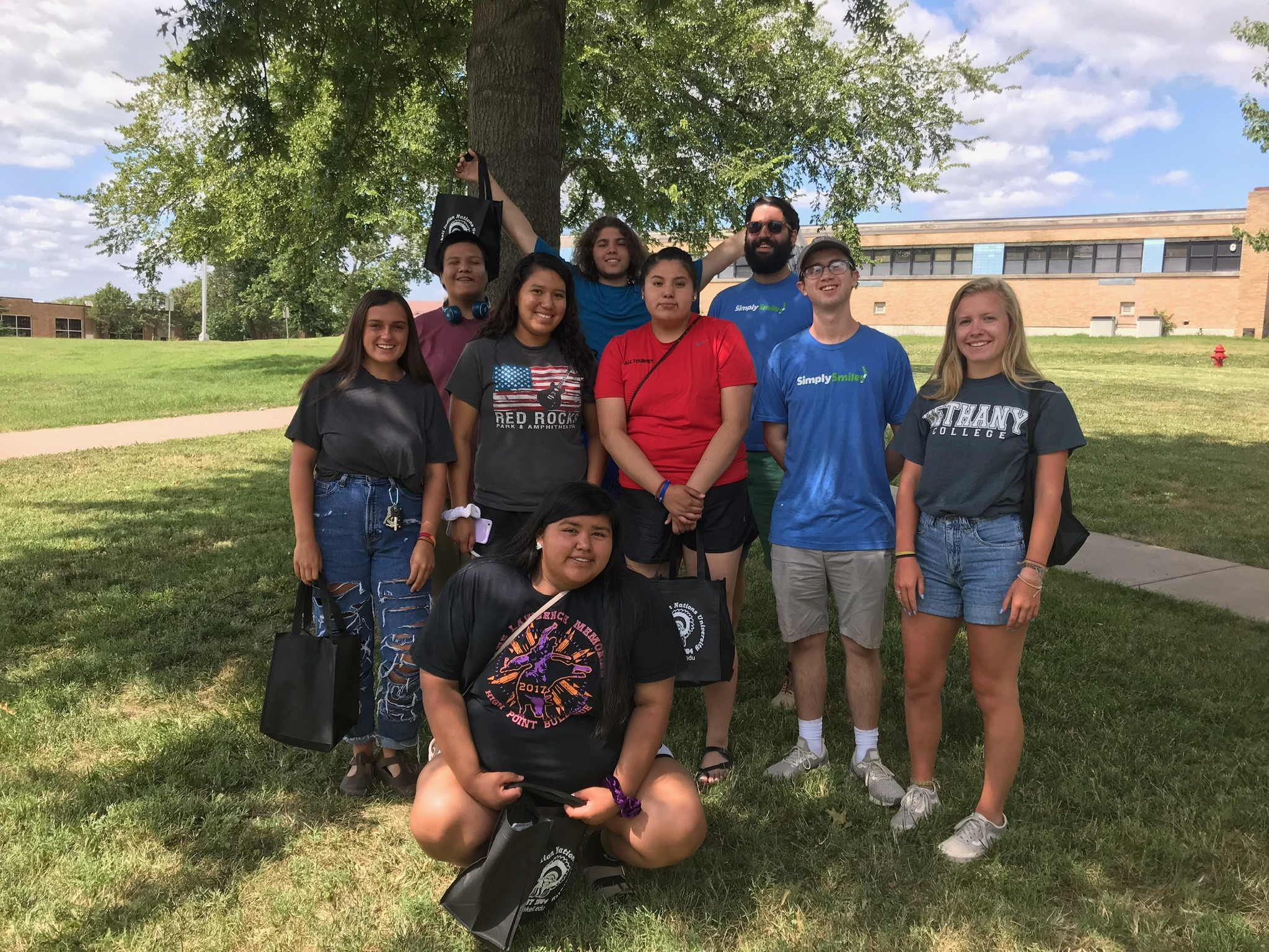 Field Trips  help to broaden horizons and teach life-skills, including a trip to the Haskell Indian Nations University.