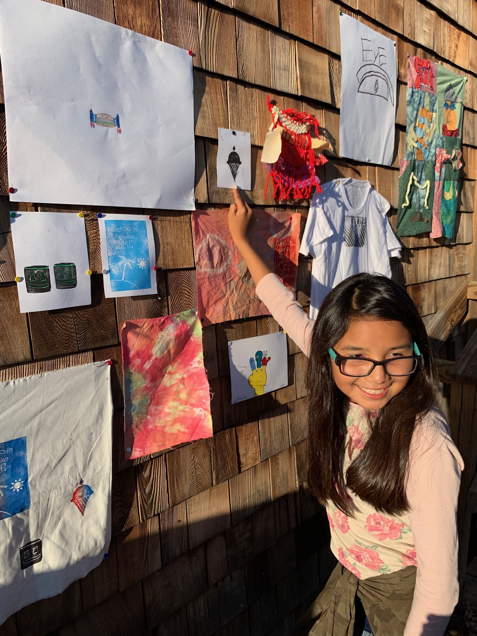 Intentioned  arts programming  allows the kids to express themselves creatively