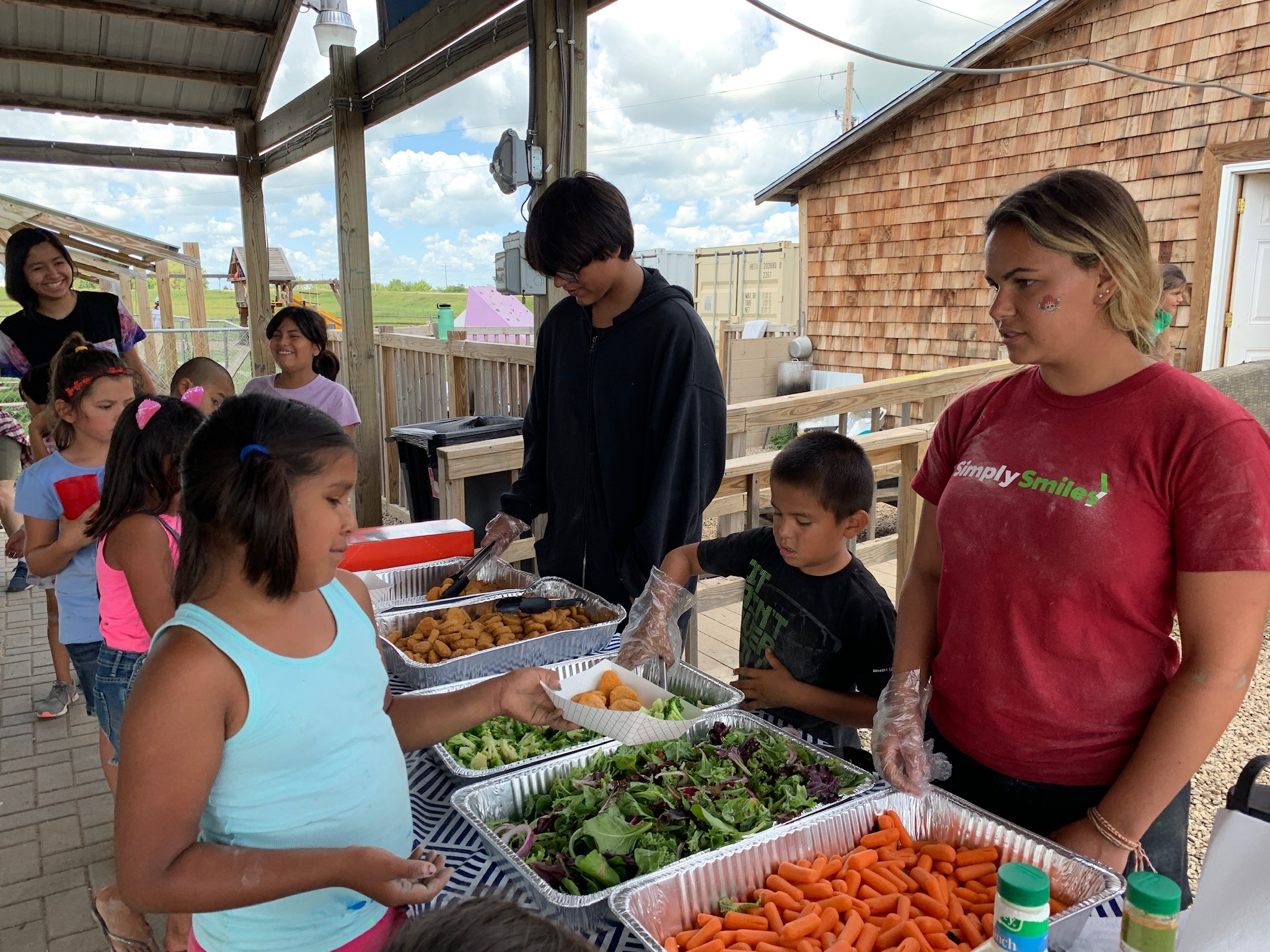Healthful Meals:  Campers get a nutritious meals to fuel them through their action-packed day!