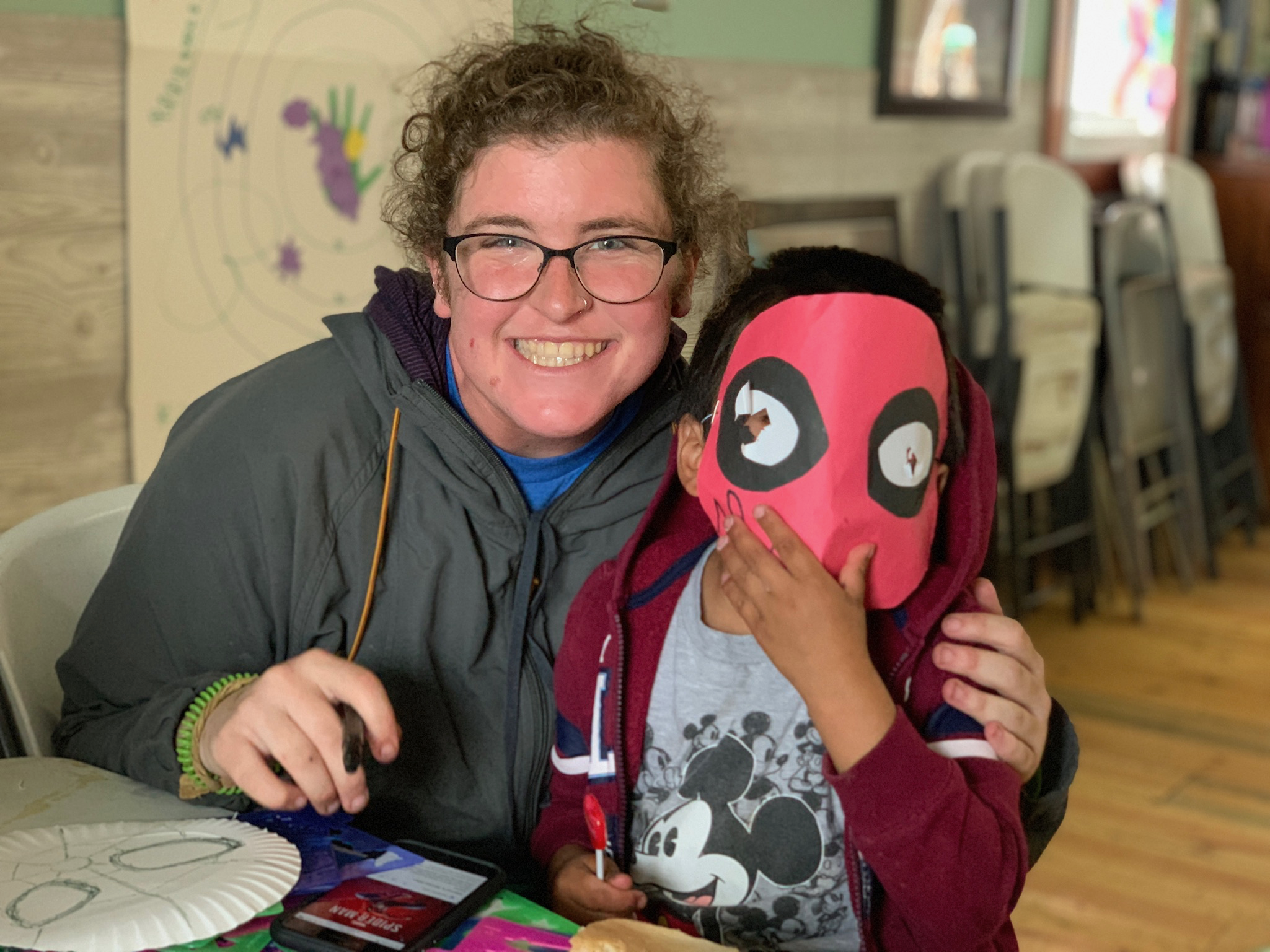 Anything is possible at Simply Smiles Summer Camp,  including becoming beloved superheroes like Spider-Man!