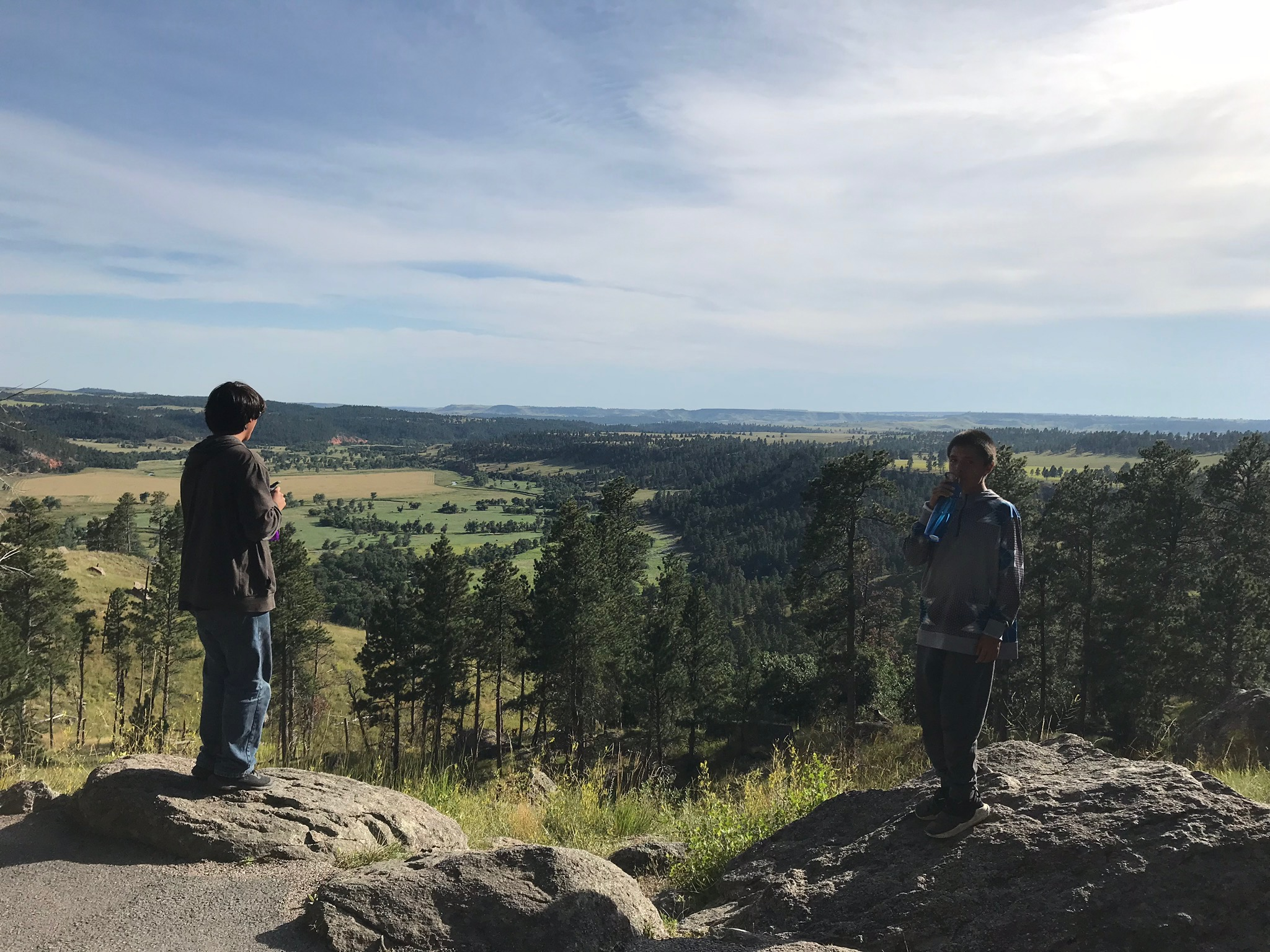 Field Trips  to help broaden horizons and teach life-skills, including a camping trip to Montana!