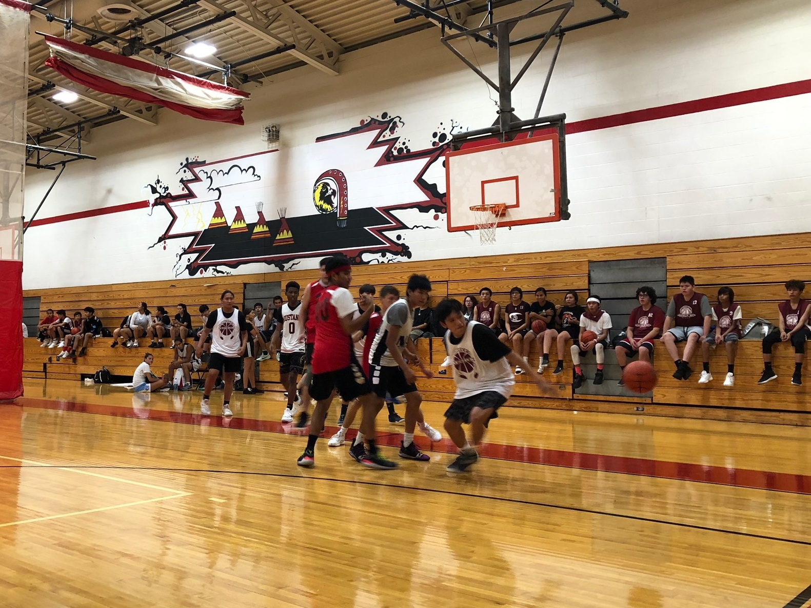 Basketball Tournament:  112 youth from throughout the Reservation participated in our 2019 tournament!