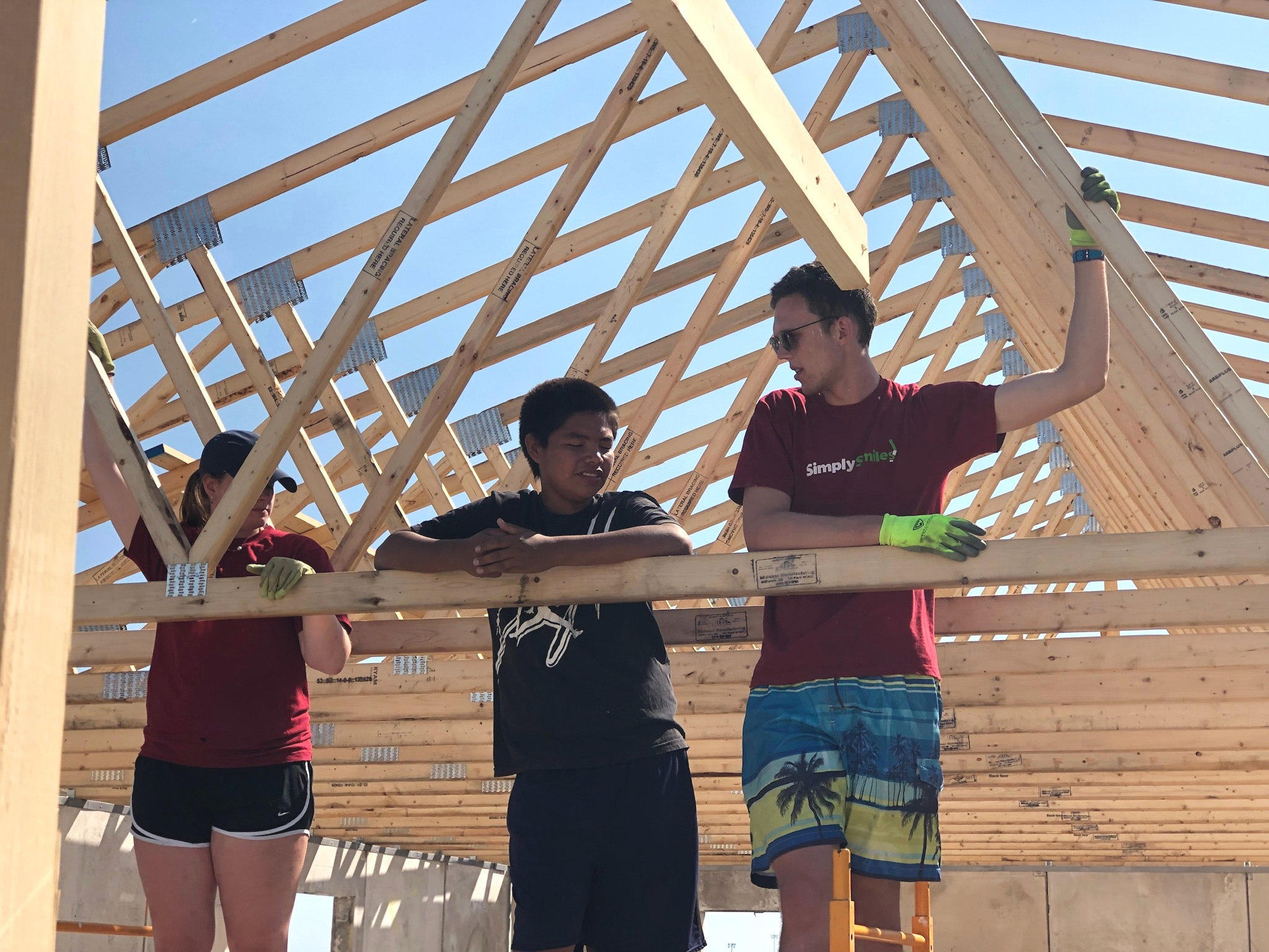 Teens have an opportunity to participate in special projects and initiatives , including construction of the   Children's Village  , and learn new work and life skills.