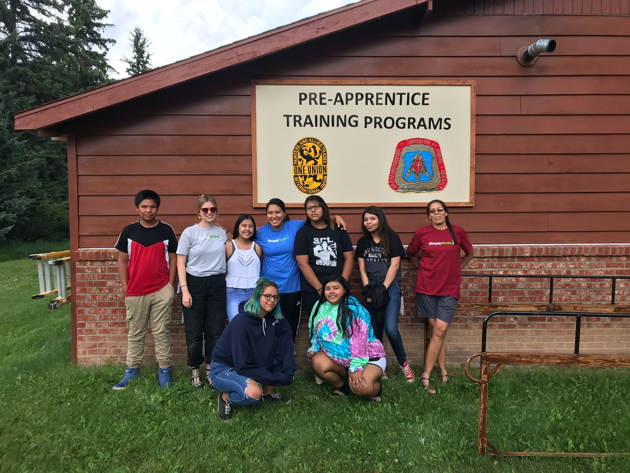 Our  teen programming  offers young adults opportunities to explore after graduation, including participation in Job Corps.
