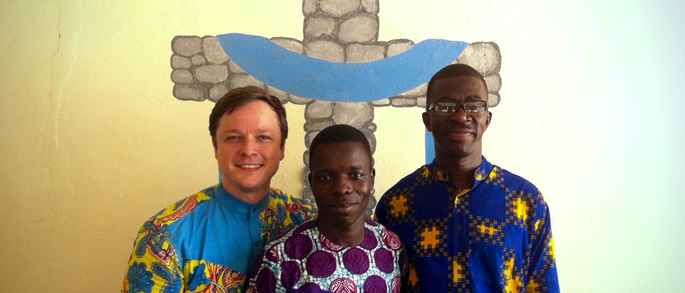Brett, Benoit y Jeremié