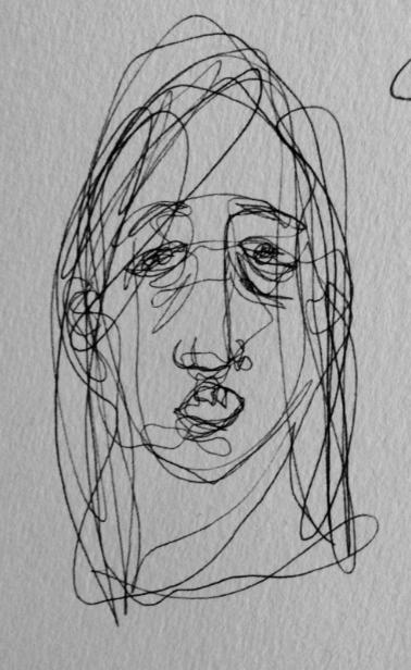 Self-portrait by Vera Wahlquist