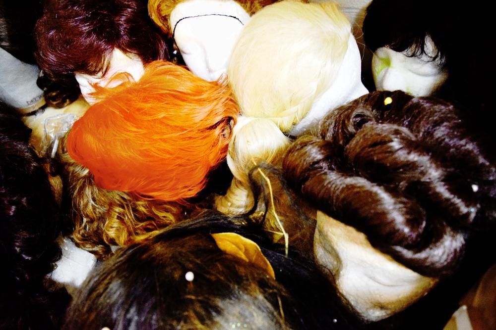 Wigs... galore.
