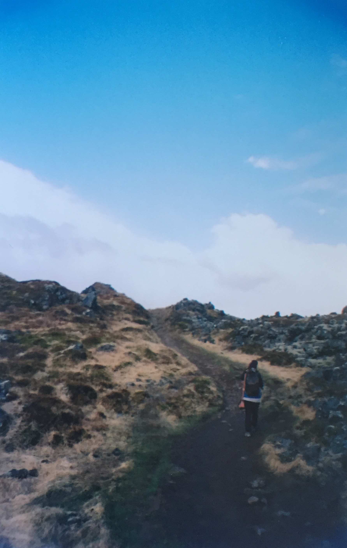 Volcanic Trail featuring an Explorer