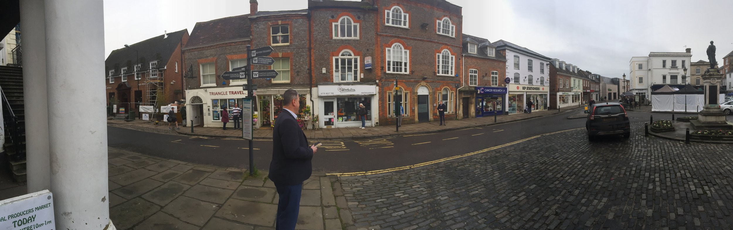 Preaching the Word on Wallingford Market Place: 04 February 2017