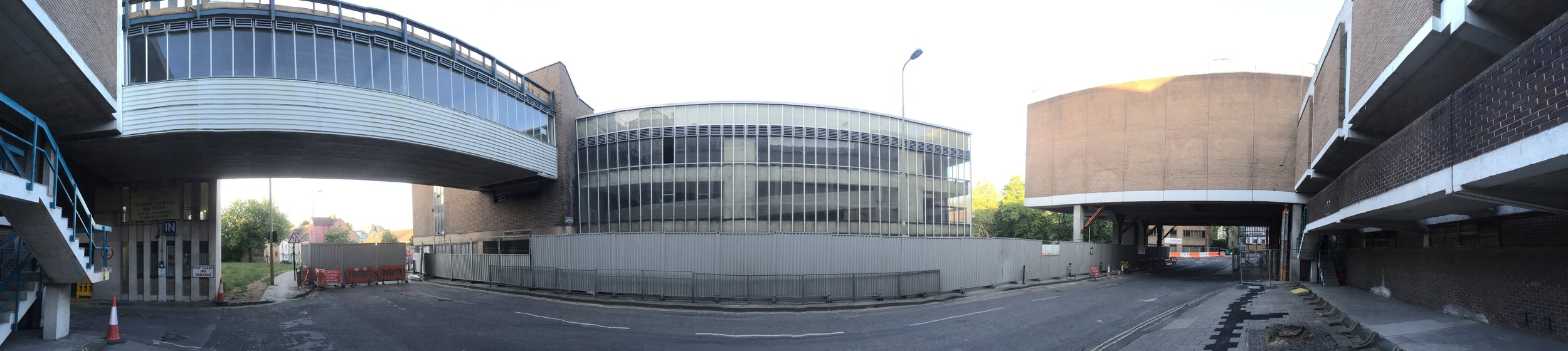 the 1972 Westgate Centre, Oxford prior to demolition in 2015
