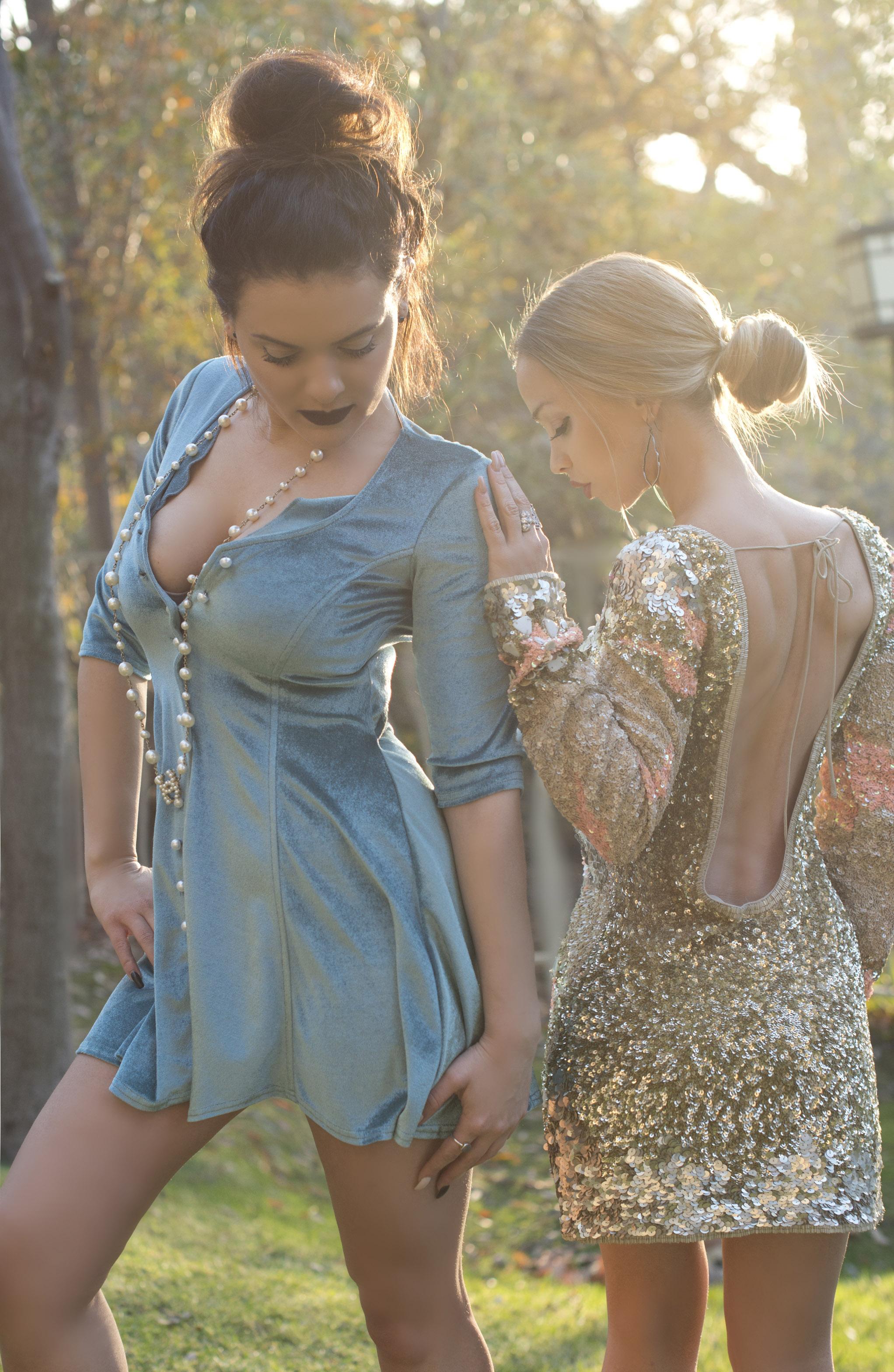 Green Velvet Dress For Love and Lemons Beaded Dress AllSaints SpitalFields