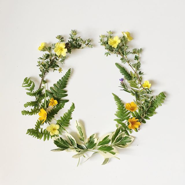 pieced together this wildflower wreath yesterday for some drawing inspiration - didn't last an hour before wilting but sure was pretty to look at while it lasted😍