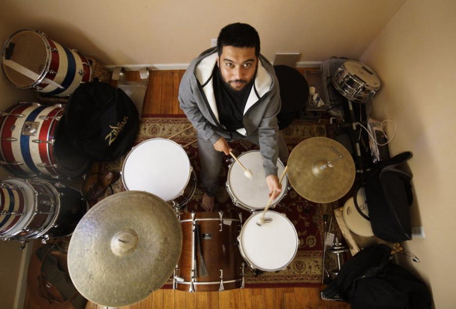 Drum studio in Pinole, CA