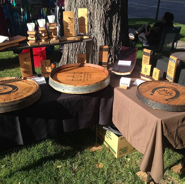 """Today we're back where we started, Downtown SLC Farmers Market.  We've added 19"""" barrel head Sexy Susans and we're just waiting to see you!"""