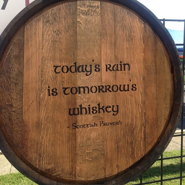 This barrel end wall sign would look great in your house.  Let me know if we can build one for you.  www.IronRoseCollection.com and keith@ironrosecollection.com