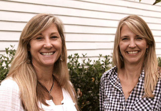 Left to right: Allison Klausner and Elena Cheney